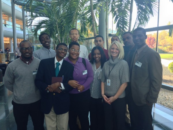 SAP--ITWorks students and Merisa DiRocco