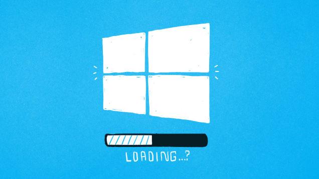windows 10 loading