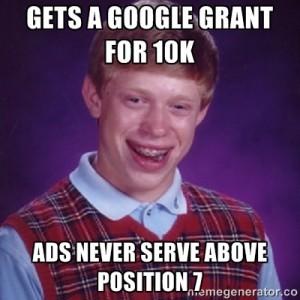 gets a google grant